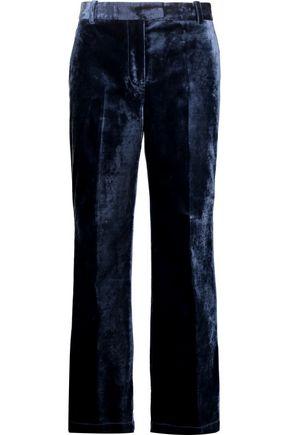 3.1 PHILLIP LIM Cropped velvet wide-leg pants
