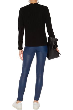 IRIS AND INK Lila leather leggings
