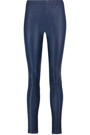 IRIS & INK Lila leather leggings