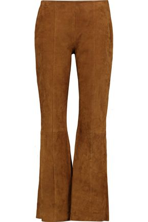 IRIS & INK Suede flared pants
