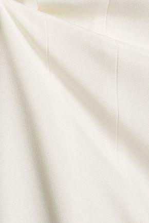 CUSHNIE ET OCHS Silk crepe de chine wide-leg pants