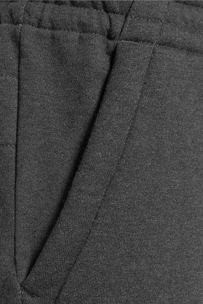 Y-3 + adidas Originals paneled cotton-jersey track pants