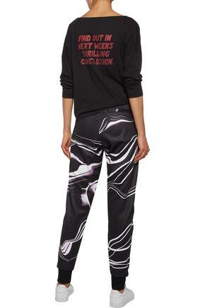 Y-3 + adidas Originals printed jersey track pants