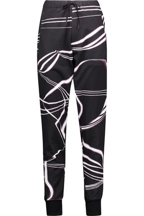 Y-3 + adidas Originals printed jersey track pants