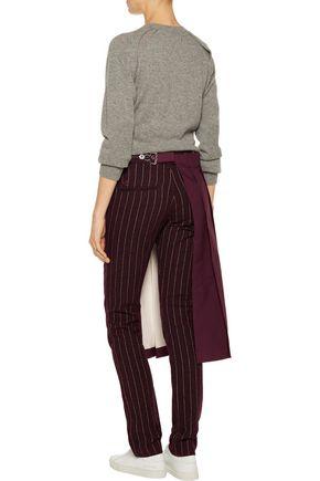 Y-3 Convertible wool-blend slim-leg pants