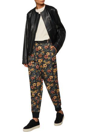 Y-3 + adidas Originals floral-print cotton-twill track pants
