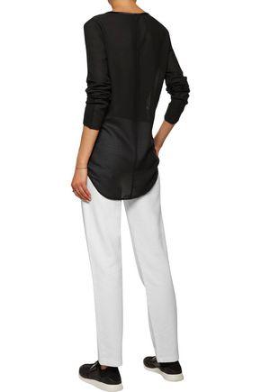 Y-3 + adidas Originals cotton track pants