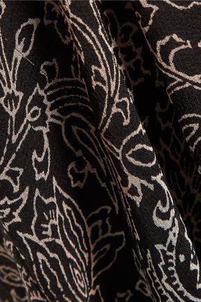 ZIMMERMANN Lavish open-back printed silk-chiffon jumpsuit