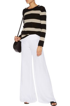 ENZA COSTA Linen wide-leg pants