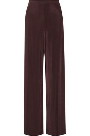 ZIMMERMANN Chroma stretch-knit wide-leg pants