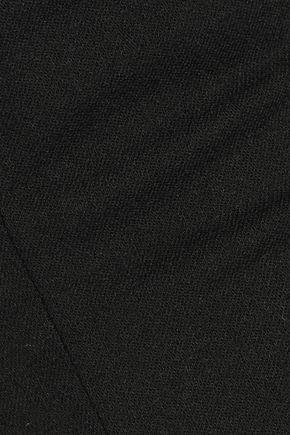 THEORY Demitria Saxton wool-blend crepe bootcut pants