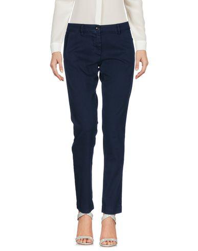 Фото - Повседневные брюки от NINE:INTHE:MORNING темно-синего цвета