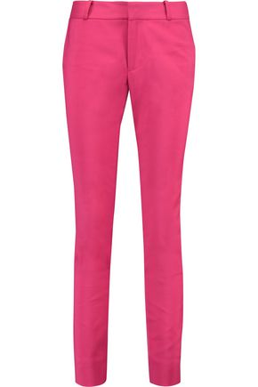 RAOUL Stretch cotton-blend slim-leg pants