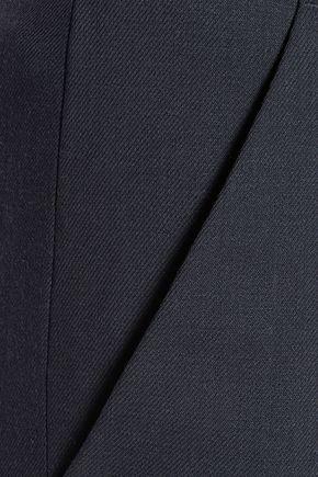 NINA RICCI Wool-twill straight-leg pants