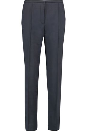 NINA RICCI Wool-twill straight-leg pants