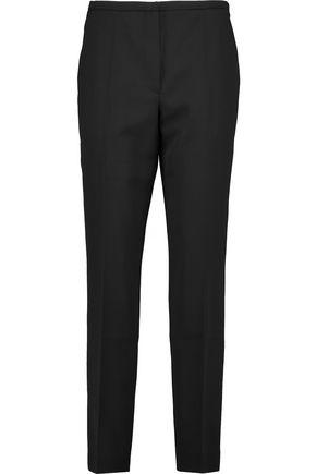 NINA RICCI Silk-crepe slim-leg pants