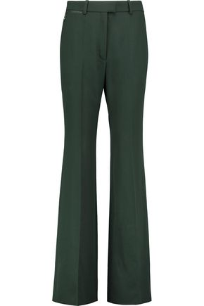NINA RICCI Wool-crepe flared pants