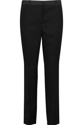 3.1 PHILLIP LIM Cropped wool-canvas straight-leg pants