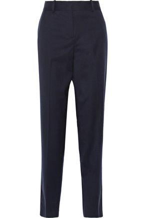 MAJE Wool-crepe straight-leg pants