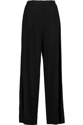 THEORY Adamaris crepe wide-leg pants