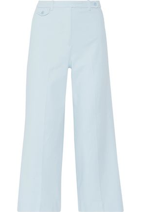 THEORY Stretch-cotton twill pants