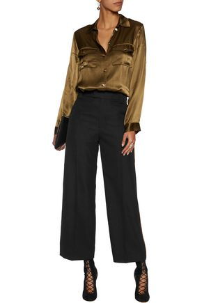 MARC BY MARC JACOBS Twill wide-leg pants