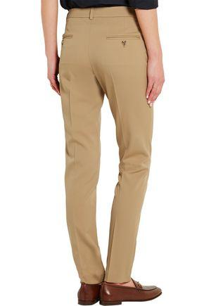 MICHAEL KORS COLLECTION Samantha stretch-wool gabardine slim-leg pants
