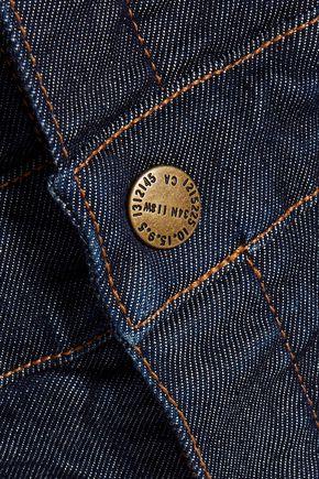 CURRENT/ELLIOTT The Clean Flare denim overalls