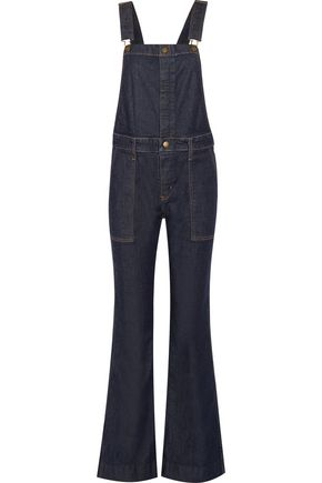 CURRENT/ELLIOTT The Clean Flare denim overalls