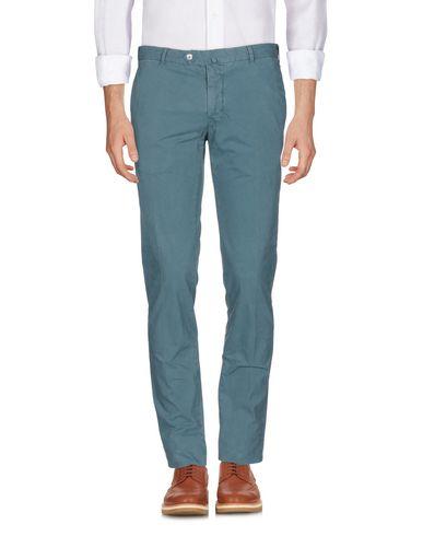 Фото - Повседневные брюки от GIO ZUBON грифельно-синего цвета