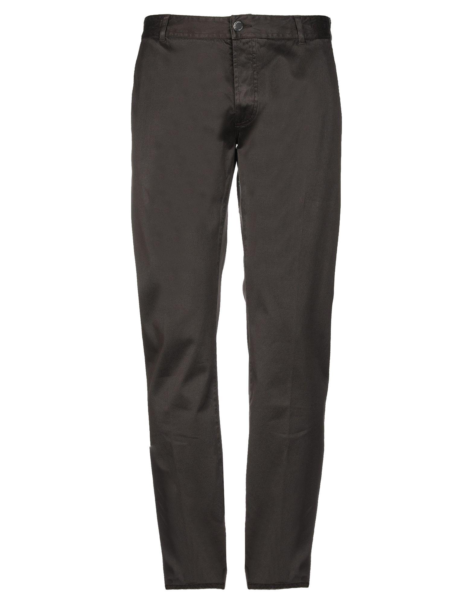 《セール開催中》E.MARINELLA メンズ パンツ ダークブラウン 33 コットン 98% / ポリウレタン 2%