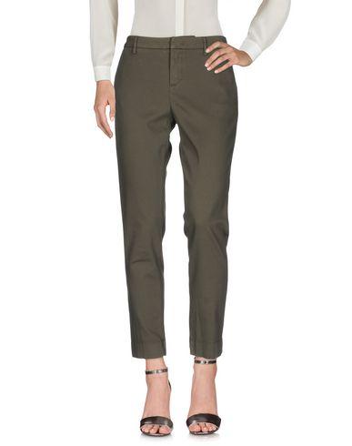 Фото - Повседневные брюки от RE-HASH цвет зеленый-милитари