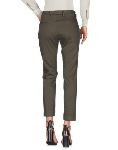 Фото 2 - Повседневные брюки от RE-HASH цвет зеленый-милитари