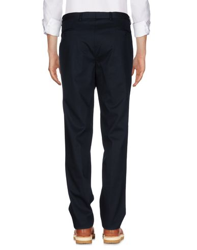 Фото 2 - Повседневные брюки от PAOLONI темно-синего цвета
