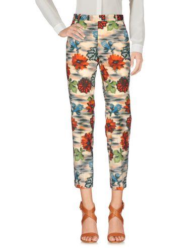 Фото - Повседневные брюки от MALÌPARMI бежевого цвета