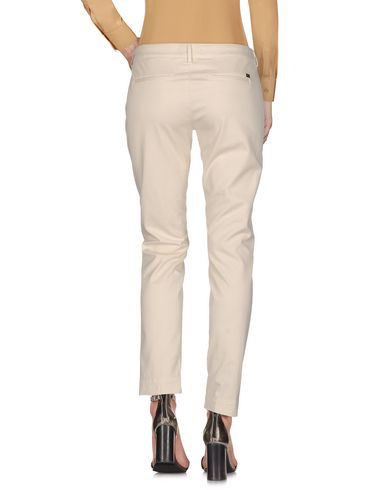 Фото 2 - Повседневные брюки цвет слоновая кость