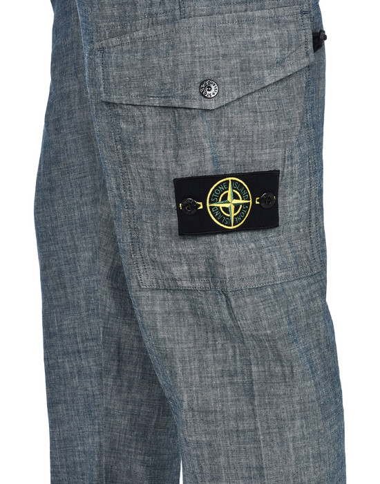 13107535ub - PANTS - 5 POCKETS STONE ISLAND