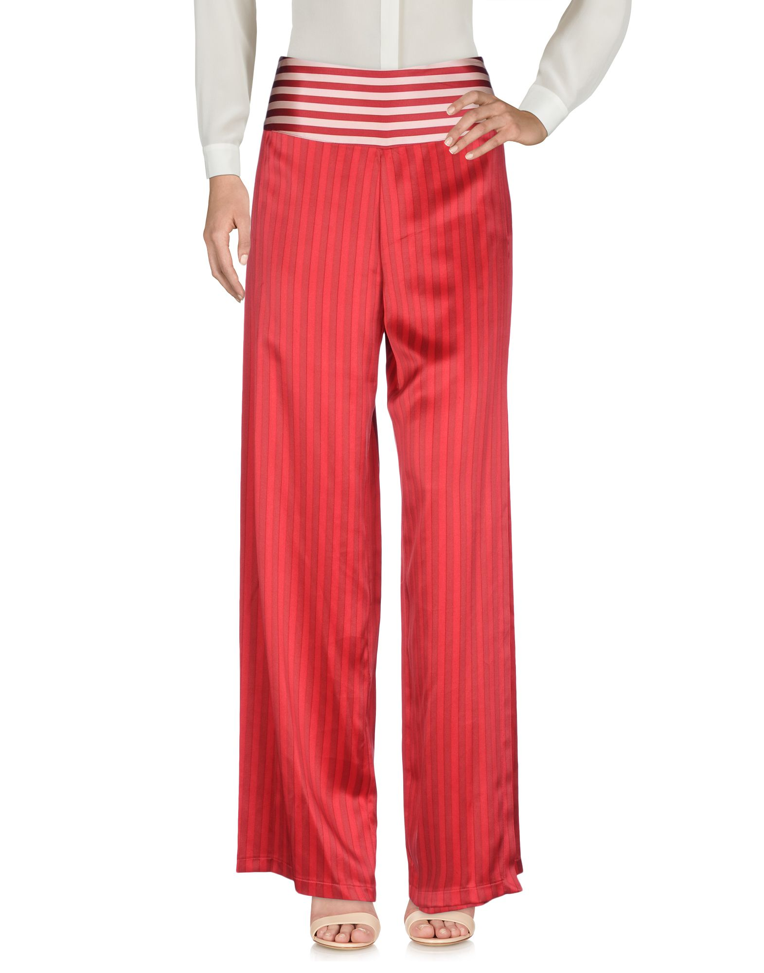 INTROPIA Casual Pants in Red