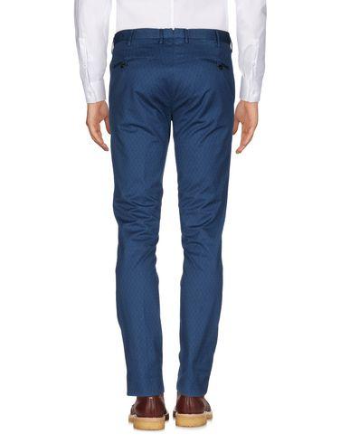 Фото 2 - Повседневные брюки от INCOTEX пастельно-синего цвета
