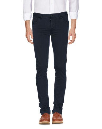 Фото - Повседневные брюки от THINPLE темно-синего цвета