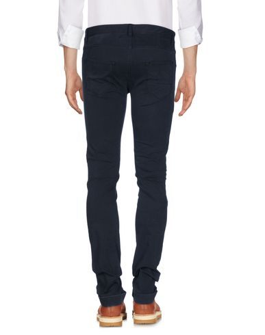 Фото 2 - Повседневные брюки от THINPLE темно-синего цвета