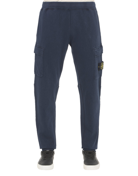 STONE ISLAND Fleece Pants 61760 T.CO+OLD