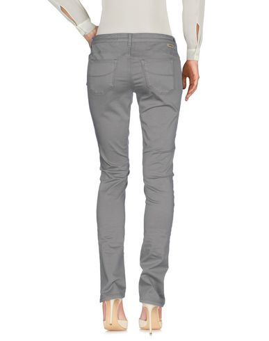 Фото 2 - Повседневные брюки от SIVIGLIA серого цвета
