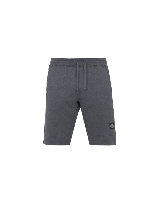 STONE ISLAND FLEECE BERMUDA SHORTS 63338