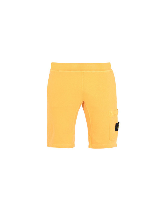STONE ISLAND FLEECE BERMUDA SHORTS 65760 T.CO+OLD