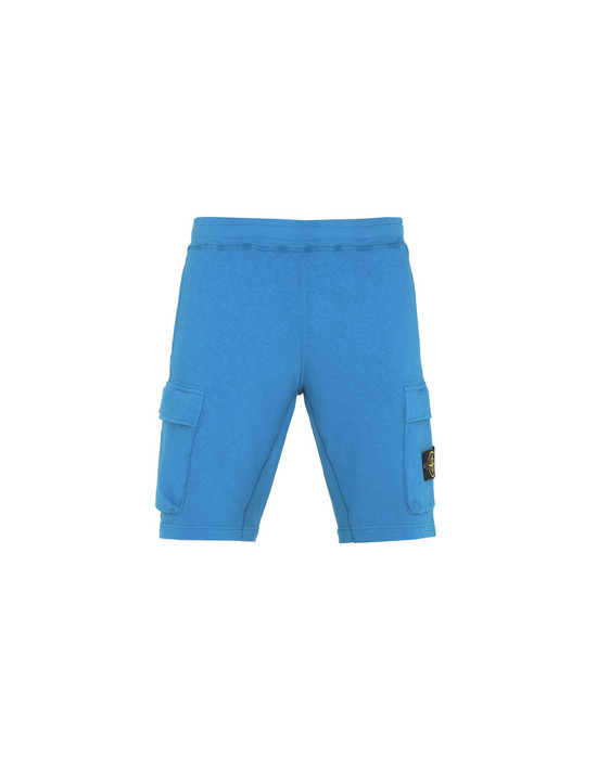 STONE ISLAND FLEECE BERMUDA SHORTS 63260