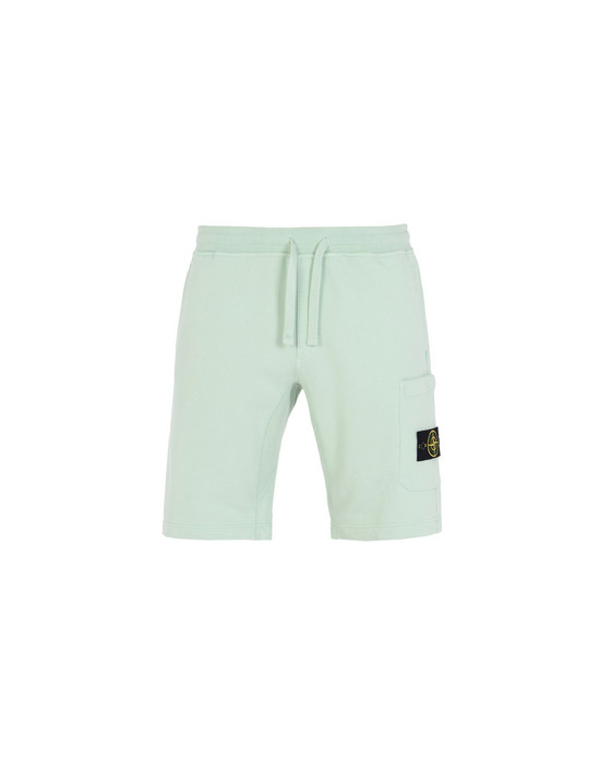 STONE ISLAND FLEECE BERMUDA SHORTS 60840