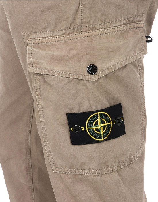 13107830hl - TROUSERS - 5 POCKETS STONE ISLAND