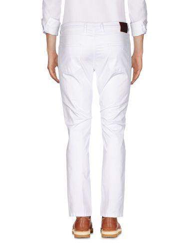 Фото 2 - Повседневные брюки от BRIGLIA 1949 белого цвета