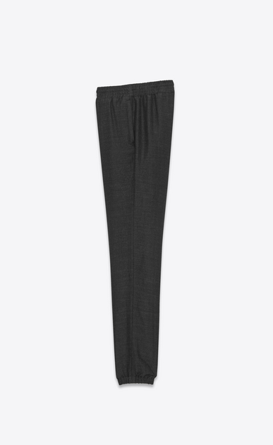 SAINT LAURENT Classic Pant U Jogging pants in anthracite cheesecloth b_V4